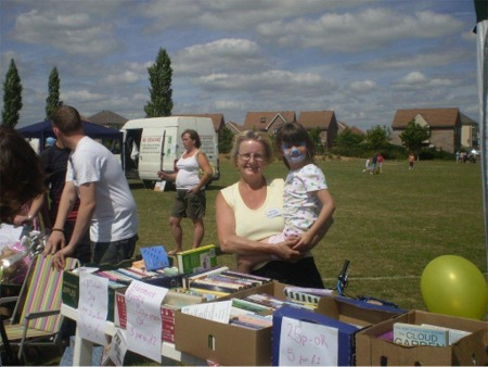 Fund Raising Stall - Kent's Hill - 10th July 2010